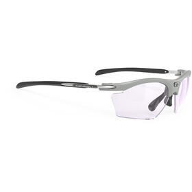 Rudy Project Rydon Slim Okulary rowerowe, frozen ash/impactX 2 photochromic laser purple